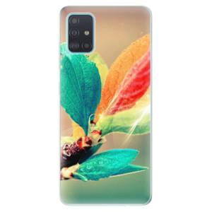 Odolné silikonové pouzdro iSaprio - Autumn 02 na mobil Samsung Galaxy A51