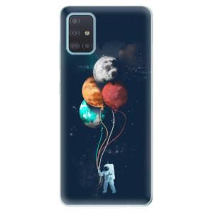Odolné silikonové pouzdro iSaprio - Balloons 02 na mobil Samsung Galaxy A51