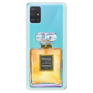 Odolné silikonové pouzdro iSaprio - Chanel Gold na mobil Samsung Galaxy A51