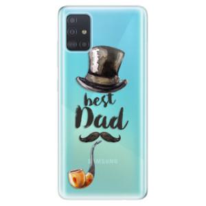 Odolné silikonové pouzdro iSaprio - Best Dad na mobil Samsung Galaxy A51