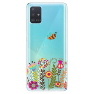 Odolné silikonové pouzdro iSaprio - Bee 01 na mobil Samsung Galaxy A51