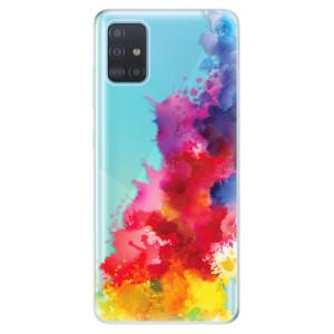 Odolné silikonové pouzdro iSaprio - Color Splash 01 na mobil Samsung Galaxy A51