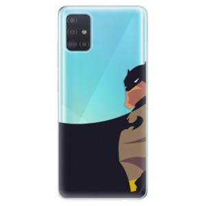 Odolné silikonové pouzdro iSaprio - BaT Comics na mobil Samsung Galaxy A51