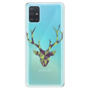 Odolné silikonové pouzdro iSaprio - Deer Green na mobil Samsung Galaxy A51