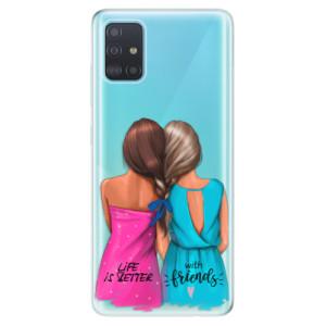 Odolné silikonové pouzdro iSaprio - Best Friends na mobil Samsung Galaxy A51