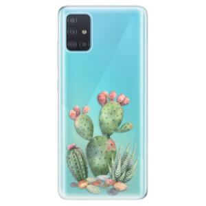 Odolné silikonové pouzdro iSaprio - Cacti 01 na mobil Samsung Galaxy A51