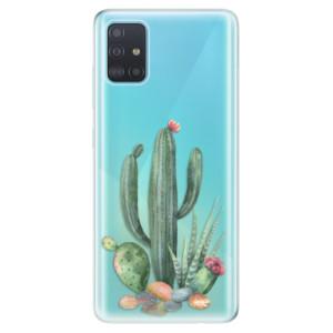 Odolné silikonové pouzdro iSaprio - Cacti 02 na mobil Samsung Galaxy A51
