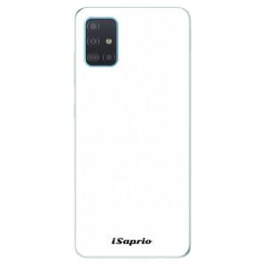 Odolné silikonové pouzdro iSaprio - 4Pure - bílé na mobil Samsung Galaxy A51