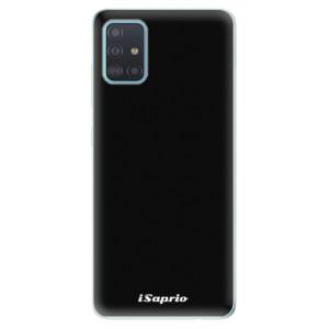 Odolné silikonové pouzdro iSaprio - 4Pure - černé na mobil Samsung Galaxy A51