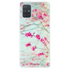 Odolné silikonové pouzdro iSaprio - Blossom 01 na mobil Samsung Galaxy A71