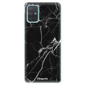 Odolné silikonové pouzdro iSaprio - Black Marble 18 na mobil Samsung Galaxy A71