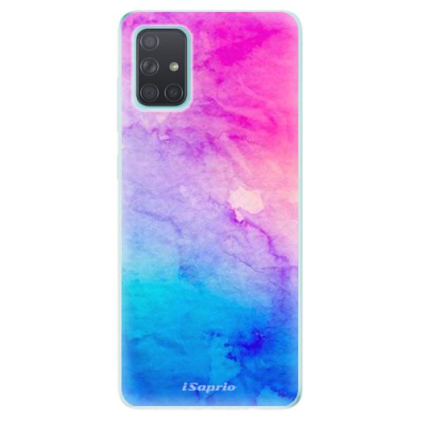 Odolné silikonové pouzdro iSaprio - Watercolor Paper 01 na mobil Samsung Galaxy A71 - poslední kousek za tuto cenu