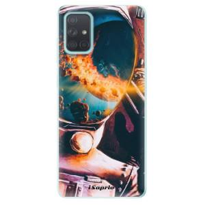 Odolné silikonové pouzdro iSaprio - Astronaut 01 na mobil Samsung Galaxy A71