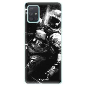 Odolné silikonové pouzdro iSaprio - Astronaut 02 na mobil Samsung Galaxy A71