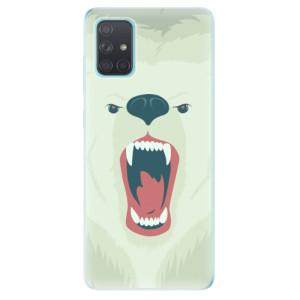 Odolné silikonové pouzdro iSaprio - Angry Bear na mobil Samsung Galaxy A71