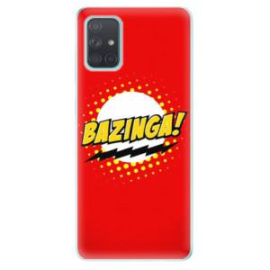 Odolné silikonové pouzdro iSaprio - Bazinga 01 na mobil Samsung Galaxy A71