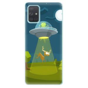 Odolné silikonové pouzdro iSaprio - Alien 01 na mobil Samsung Galaxy A71