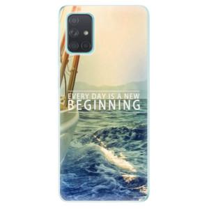 Odolné silikonové pouzdro iSaprio - Beginning na mobil Samsung Galaxy A71