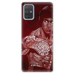 Odolné silikonové pouzdro iSaprio - Bruce Lee na mobil Samsung Galaxy A71