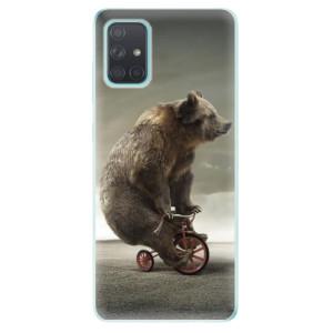 Odolné silikonové pouzdro iSaprio - Bear 01 na mobil Samsung Galaxy A71