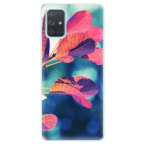 Odolné silikonové pouzdro iSaprio - Autumn 01 na mobil Samsung Galaxy A71
