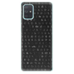 Odolné silikonové pouzdro iSaprio - Ampersand 01 na mobil Samsung Galaxy A71