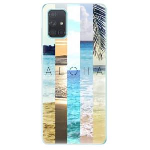 Odolné silikonové pouzdro iSaprio - Aloha 02 na mobil Samsung Galaxy A71