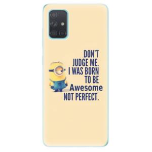 Odolné silikonové pouzdro iSaprio - Be Awesome na mobil Samsung Galaxy A71