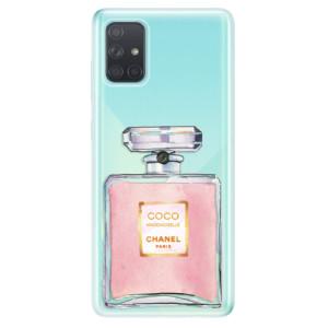 Odolné silikonové pouzdro iSaprio - Chanel Rose na mobil Samsung Galaxy A71