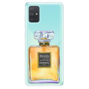 Odolné silikonové pouzdro iSaprio - Chanel Gold na mobil Samsung Galaxy A71