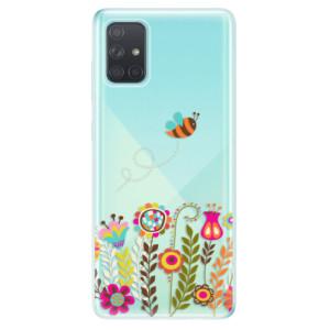 Odolné silikonové pouzdro iSaprio - Bee 01 na mobil Samsung Galaxy A71