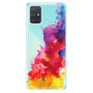 Odolné silikonové pouzdro iSaprio - Color Splash 01 na mobil Samsung Galaxy A71