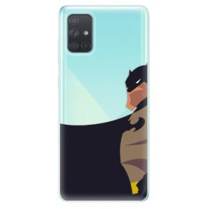 Odolné silikonové pouzdro iSaprio - BaT Comics na mobil Samsung Galaxy A71
