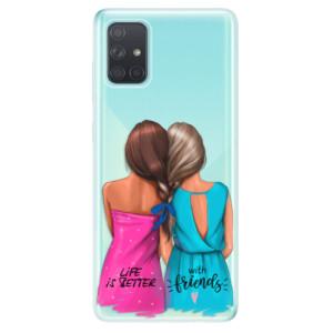 Odolné silikonové pouzdro iSaprio - Best Friends na mobil Samsung Galaxy A71