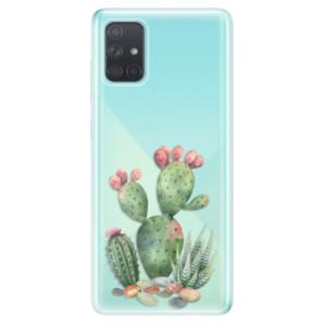 Odolné silikonové pouzdro iSaprio - Cacti 01 na mobil Samsung Galaxy A71