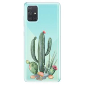 Odolné silikonové pouzdro iSaprio - Cacti 02 na mobil Samsung Galaxy A71