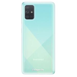 Odolné silikonové pouzdro iSaprio - 4Pure - čiré bez potisku na mobil Samsung Galaxy A71