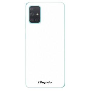 Odolné silikonové pouzdro iSaprio - 4Pure - bílé na mobil Samsung Galaxy A71