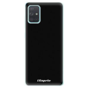 Odolné silikonové pouzdro iSaprio - 4Pure - černé na mobil Samsung Galaxy A71
