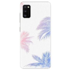 Plastové pouzdro iSaprio - Digital Palms 10 - na mobil Samsung Galaxy A41