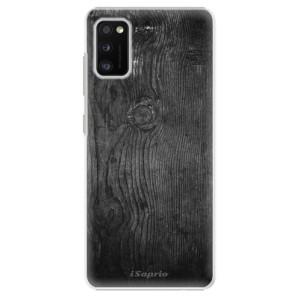 Plastové pouzdro iSaprio - Black Wood 13 - na mobil Samsung Galaxy A41
