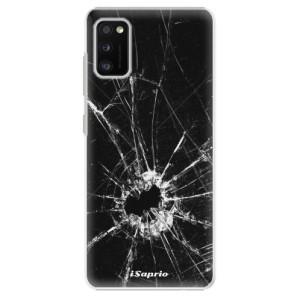 Plastové pouzdro iSaprio - Broken Glass 10 - na mobil Samsung Galaxy A41