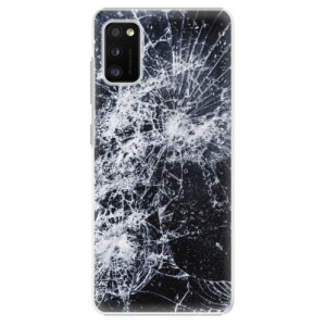 Plastové pouzdro iSaprio - Cracked - na mobil Samsung Galaxy A41