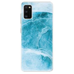 Plastové pouzdro iSaprio - Blue Marble - na mobil Samsung Galaxy A41