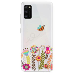 Plastové pouzdro iSaprio - Bee 01 - na mobil Samsung Galaxy A41