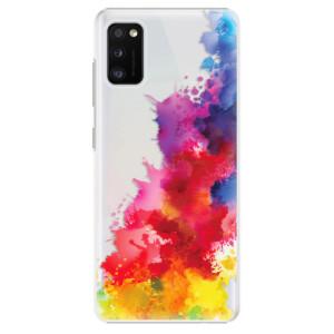 Plastové pouzdro iSaprio - Color Splash 01 - na mobil Samsung Galaxy A41