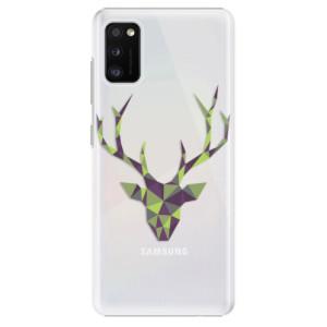 Plastové pouzdro iSaprio - Deer Green - na mobil Samsung Galaxy A41