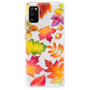 Plastové pouzdro iSaprio - Autumn Leaves 01 - na mobil Samsung Galaxy A41