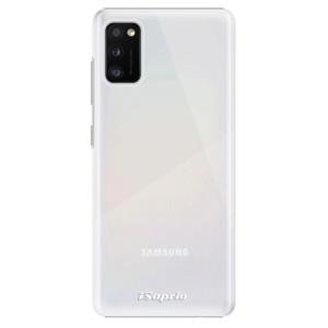 Plastové pouzdro iSaprio - 4Pure - mléčné bez potisku - na mobil Samsung Galaxy A41