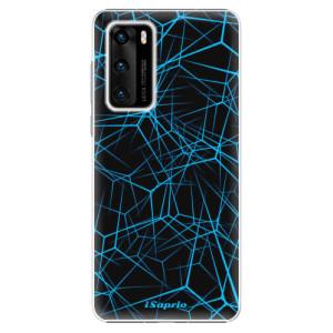 Plastové pouzdro iSaprio - Abstract Outlines 12 - na mobil Huawei P40